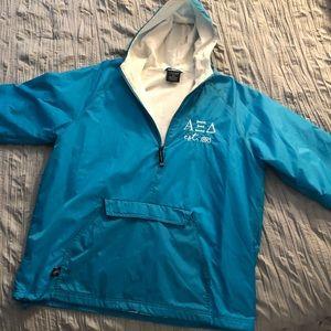 Alpha Xi Delta Rain Jacket